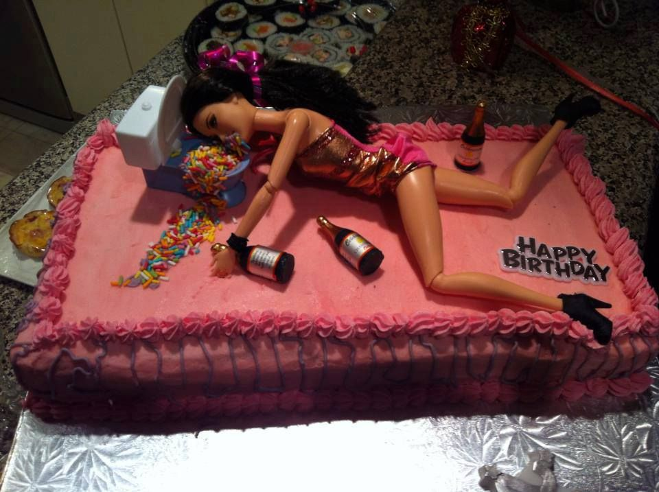 Party girl cake Humor Pinterest Girl cakes and Humor