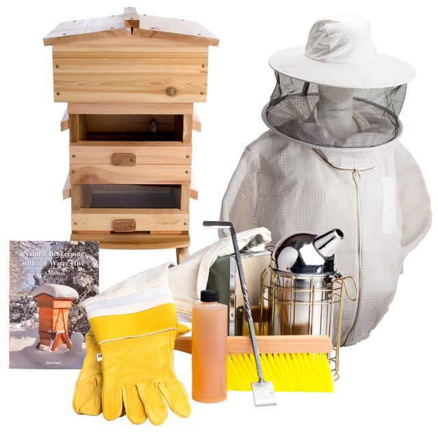Top-Bar Hive Starter Kit from Bee Thinking. This Western ...
