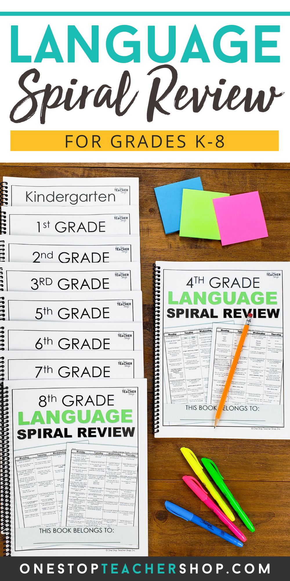 Language Spiral Review For Daily Grammar Practice Grammar Practice Spiral Review Guided Reading Lessons Kindergarten [ 2000 x 1000 Pixel ]