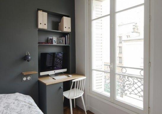 La reforma de un piso parisino de 90m2 | Pinterest | Cocina blanca ...