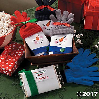 Snowman Popcorn Christmas Gift Iea 2017 Christmas party