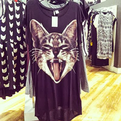 Catsparella: Cat Fashion Comes To The Mall This Fall