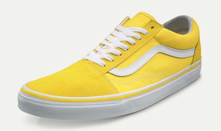 e1633c86ae7abf Original quality vans old skool anti-fur + canvas vulcanization process DT  steel seal yellow white ZB09 VN-0A38G1MWH Size  35 36 36.5 37 38 38.5 39 40  40.5 ...
