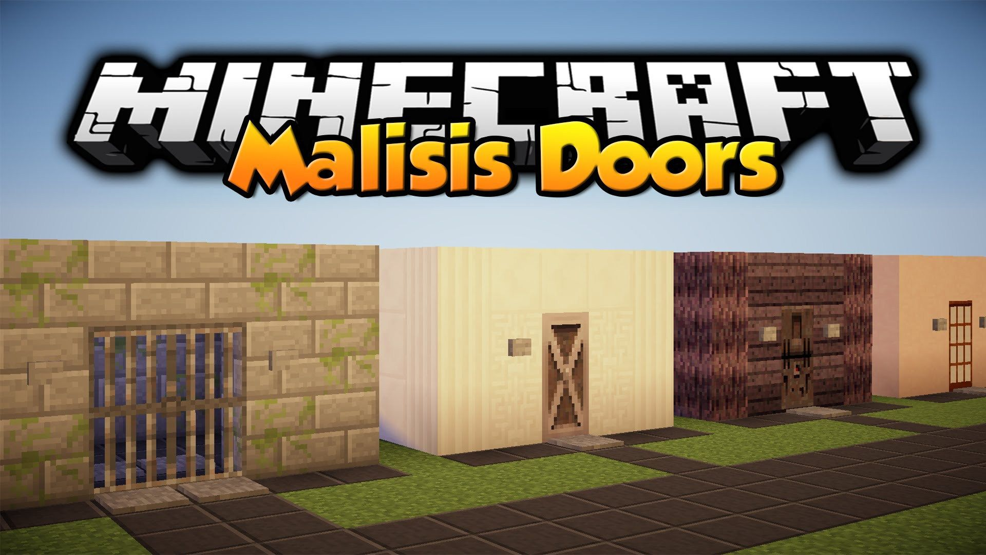 The Malisis Doors Mod 1.11 provides numerous new doors to