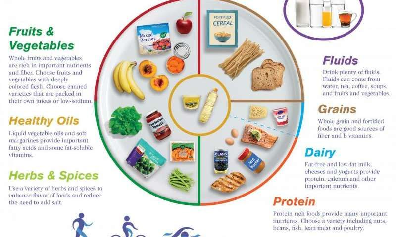 Nutrition scientists provide updated MyPlate for older
