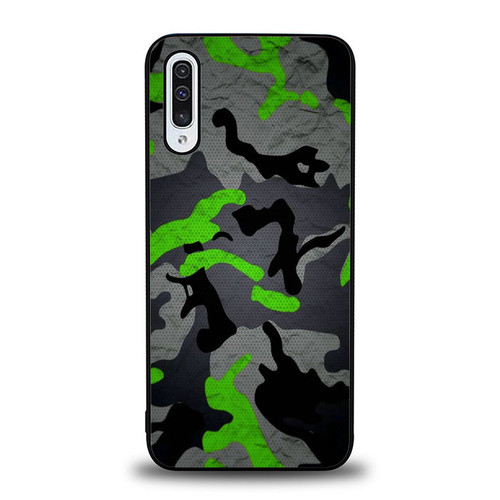 Green Grey Camo P1968 Samsung Galaxy A50 Case