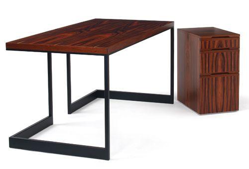 Wishbone Desk Slab Top Materials Powdercoat Metal Base And Wood Top Dimensions 60w X 30d X 29h Furniture Contemporary Furniture Furniture Design