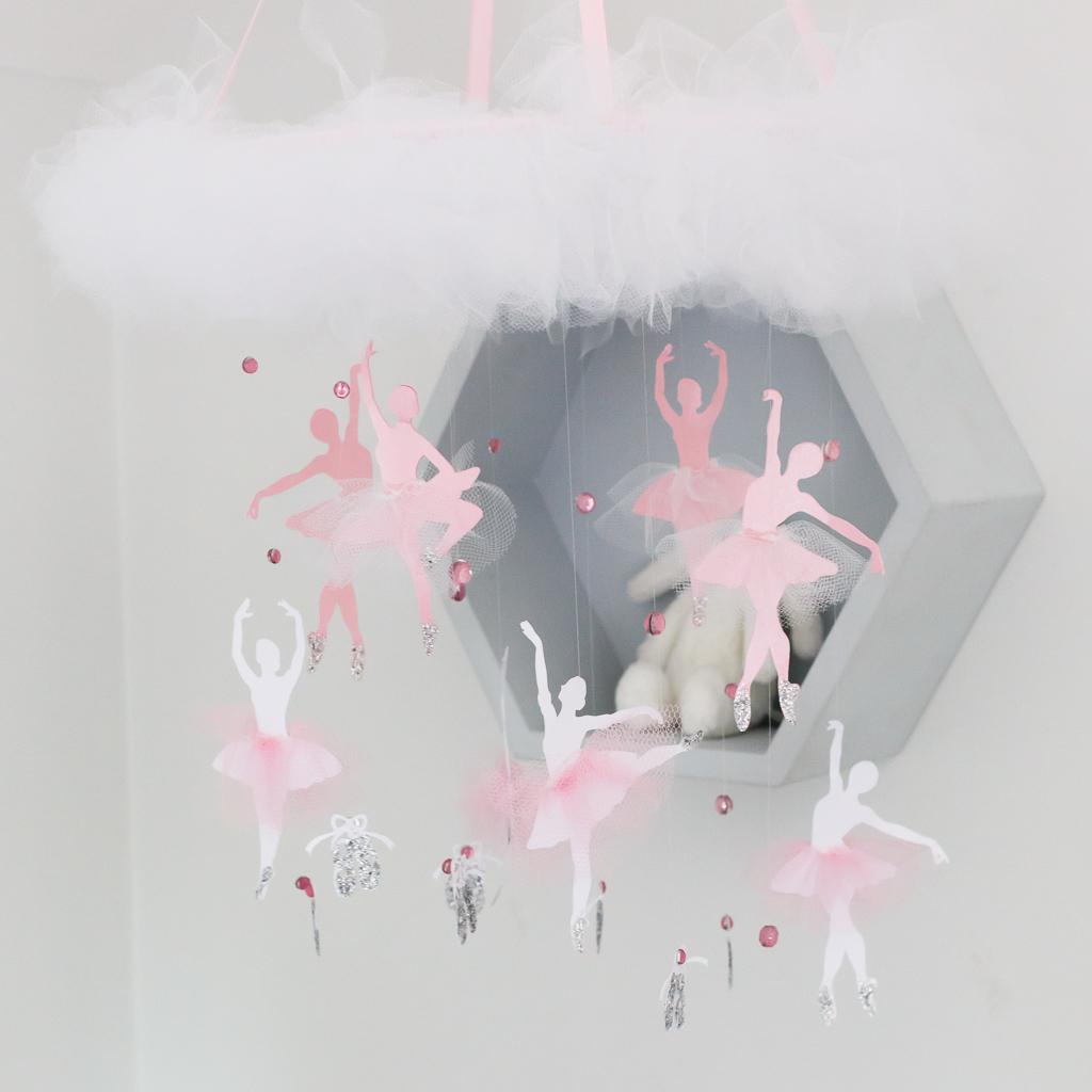 how to make a ballerina mobile