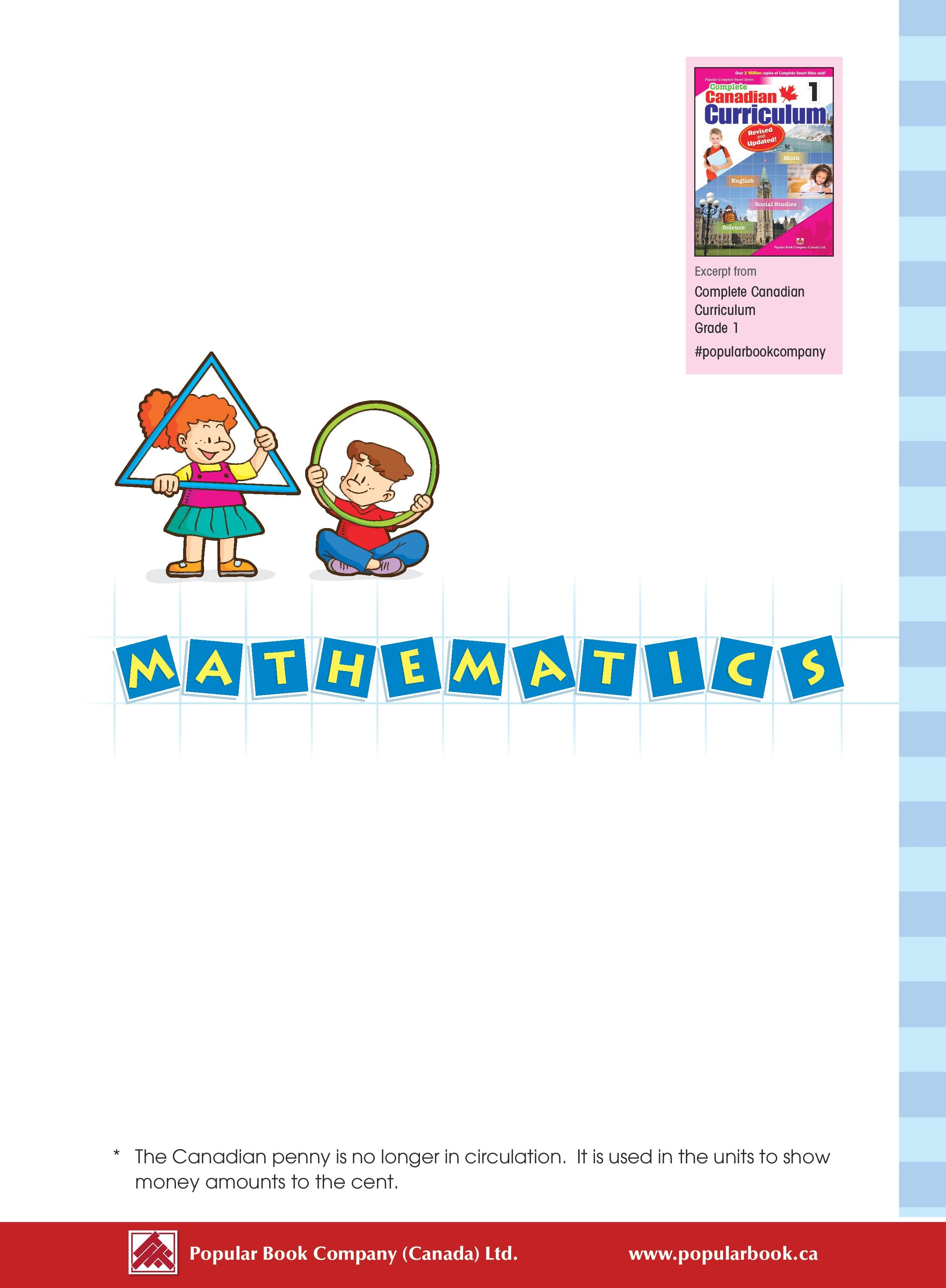Check Out Our Facebook Page Post For The Mathematics Sample Pages From The Complete Canadian Curriculum Free Worksheets For Kids Popular Books Curriculum [ 3378 x 2480 Pixel ]