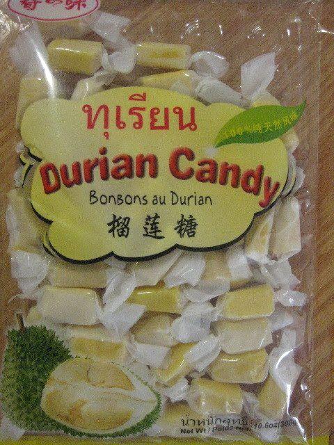 bonbon au durian