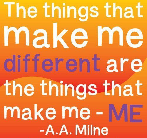 The Things That Make Me Different
