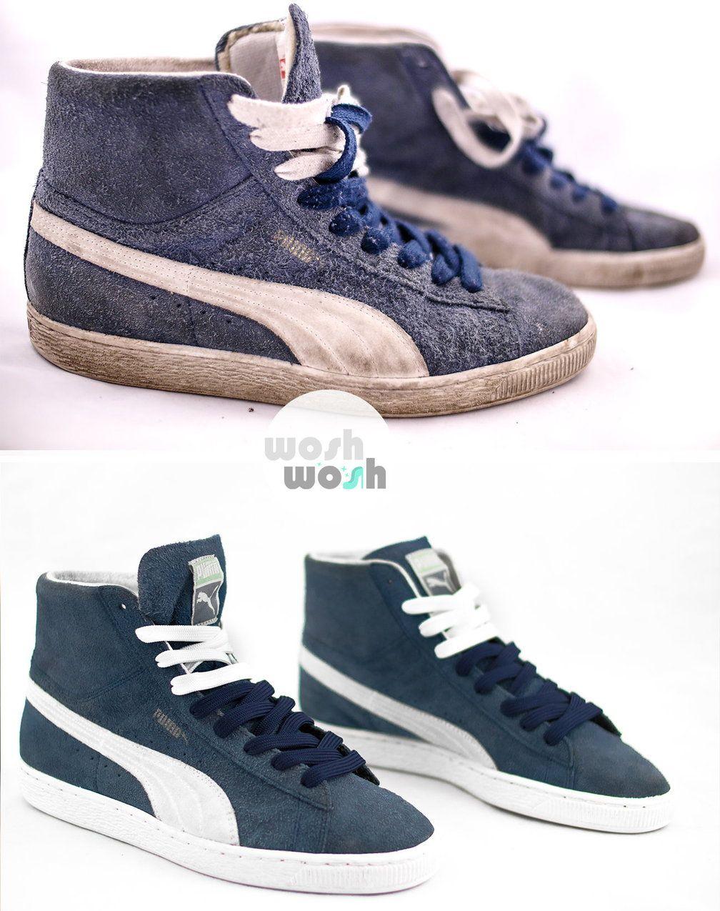 Wosh Wosh Kompleksowa Renowacja I Personalizacja Obuwia Puma Sneaker Fashion Shoes