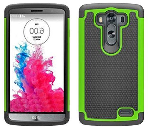 Mylife Celery Green {Shockproof Design} 2 Piece Hybrid Reflex Case for the LG G3 Smartphone (Outer Rubberized Fit On Protector Shell + Internal Silicone SECURE-Grip Bumper Gel) myLife Brand Products http://www.amazon.com/dp/B00NUAC69U/ref=cm_sw_r_pi_dp_S3Ntub1R4X99Y