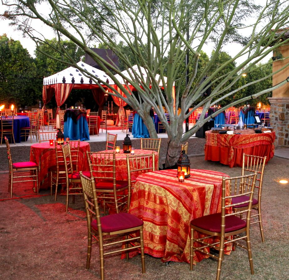 backyard party with tables and tents explore more diy wedding