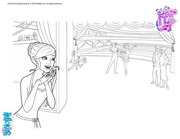 KRISTYN Dreams Of Becoming A World Class Ballerina Barbie Printable You Dont Need Your Crayons Anymore Now Can Color Online This