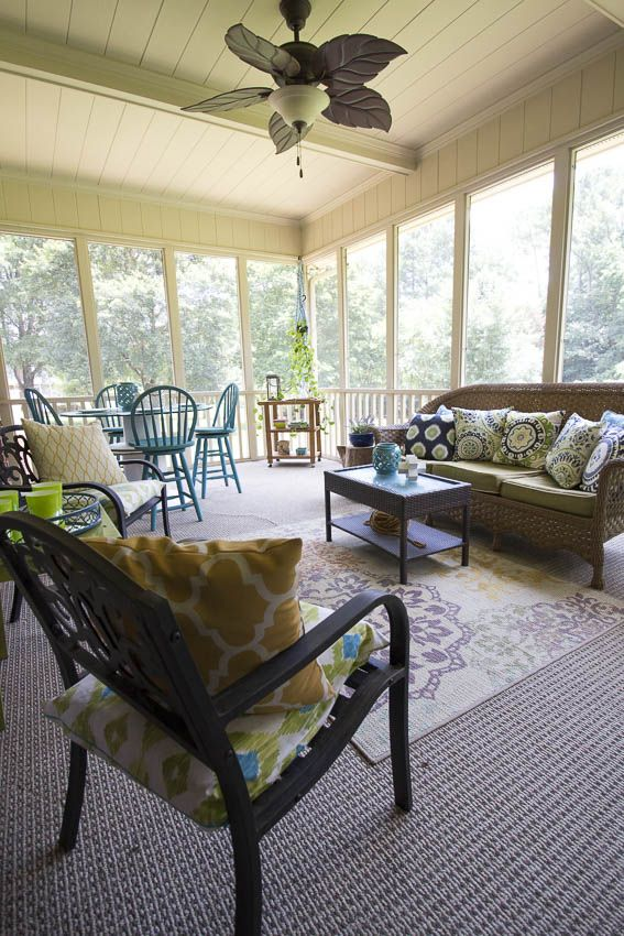 Back Porch Decorating Ideas On A Budget Rustic Garden