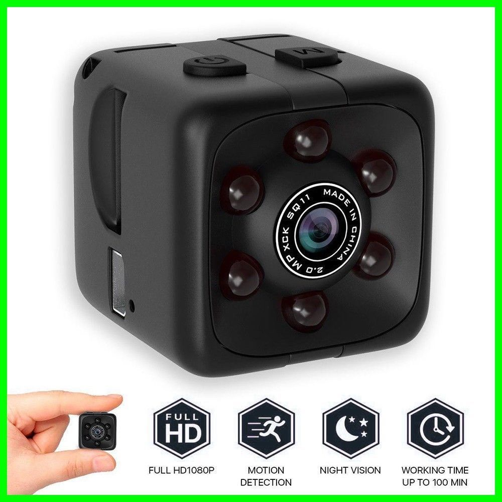 COP CAM Security Camera Motion Detection 32GB Card Night Vision Recorder