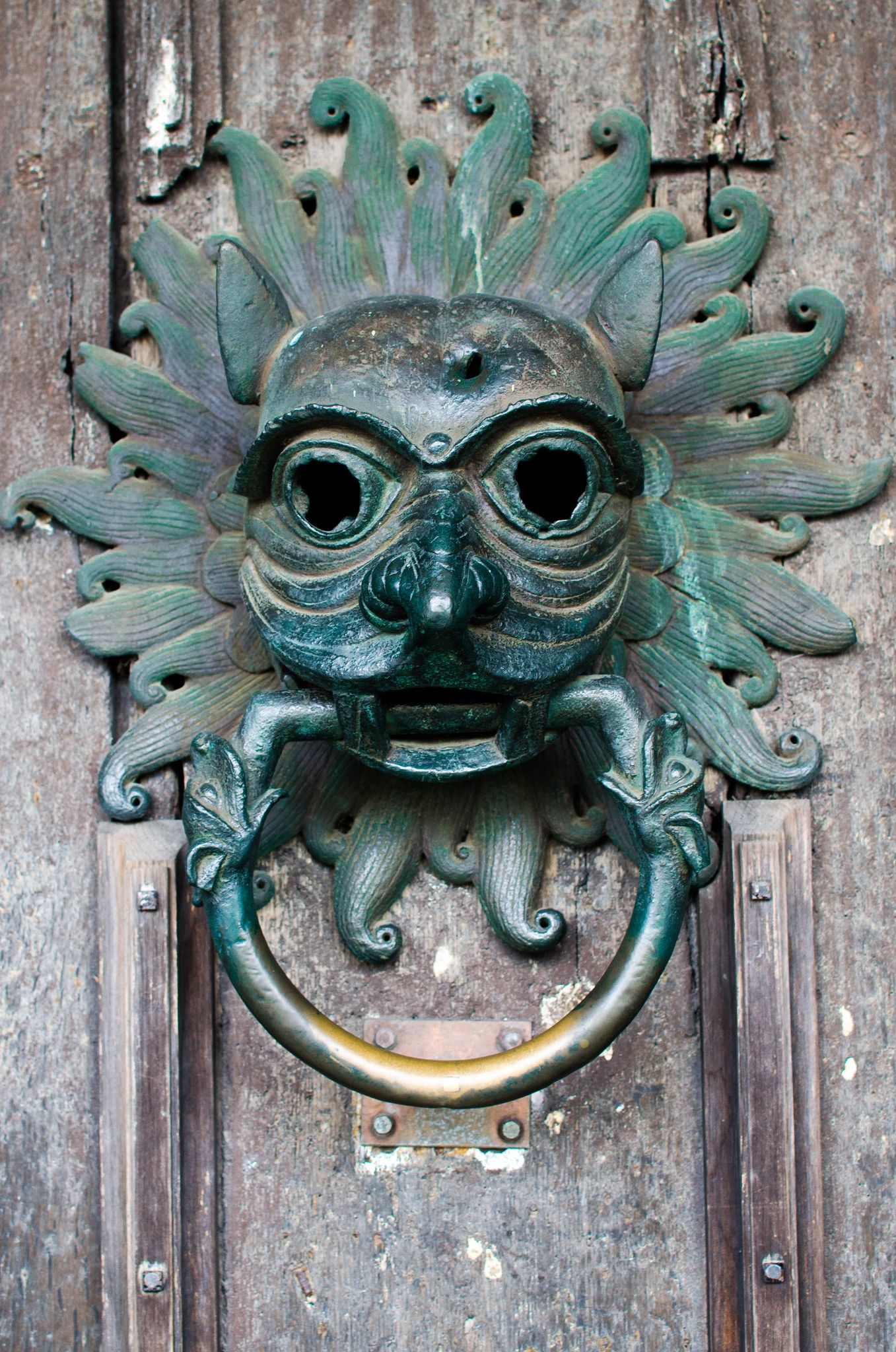 The Sanctuary Knocker - Durham Cathedral