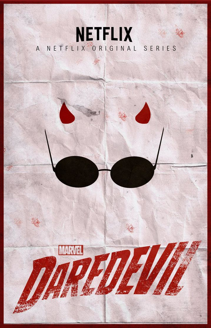 dfb4422cdb Daredevil Series - Minimalist Poster by ChipsEss0r