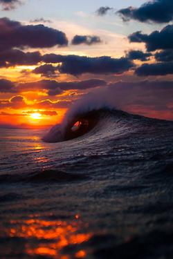 Photography Landscape Sun Clouds Nature Waves Ocean Sea Scenery Wave Sunset Vertical Evts Evfeatured O1k Evedt 5 Beautiful Sunset Ocean Sunset Sunset Wallpaper