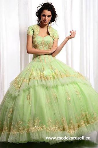 Quinceanera Ballkleid 2013 in Mint Brautkleid Hochzeitskleid www ...