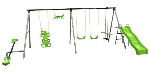 Flexible Flyer World Of Fun Swing Set Backyard Ideas Kids