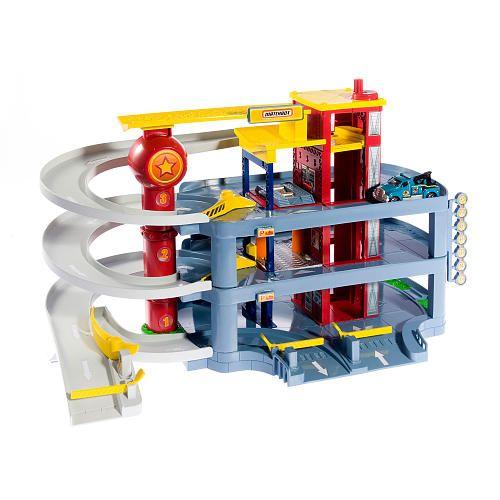 Toy Garages For Boys : Matchbox kidpicks classic garage playset mattel toys