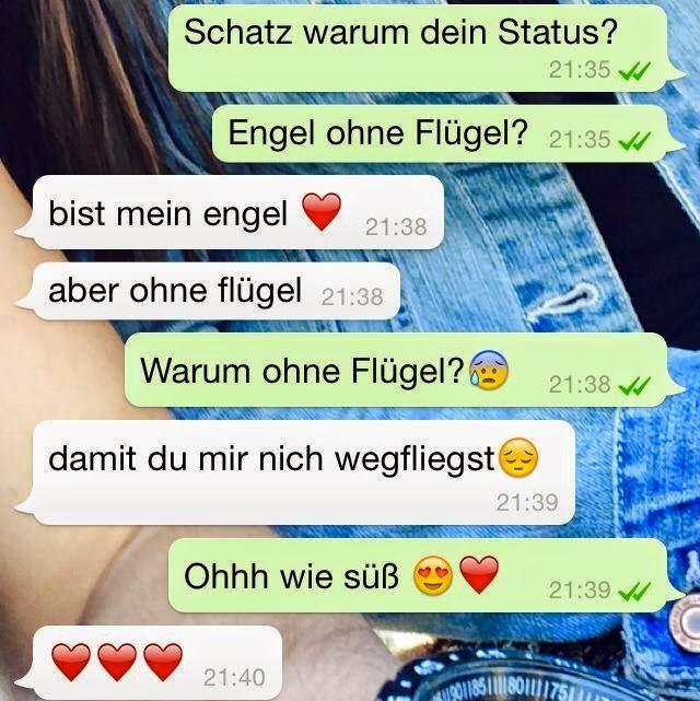 Whatsapp liebe süße chats Süße Texte