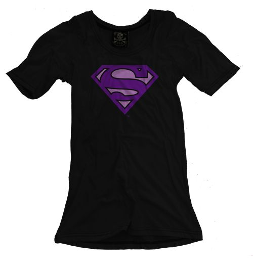 """Playera Logo Rosa Superman ""  Morra  disponible en www.kingmonster.com.mx"