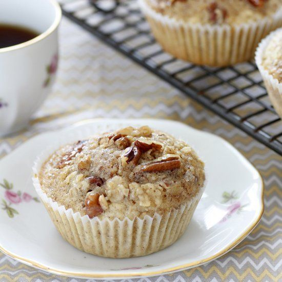 Maple And Pecan Muffins