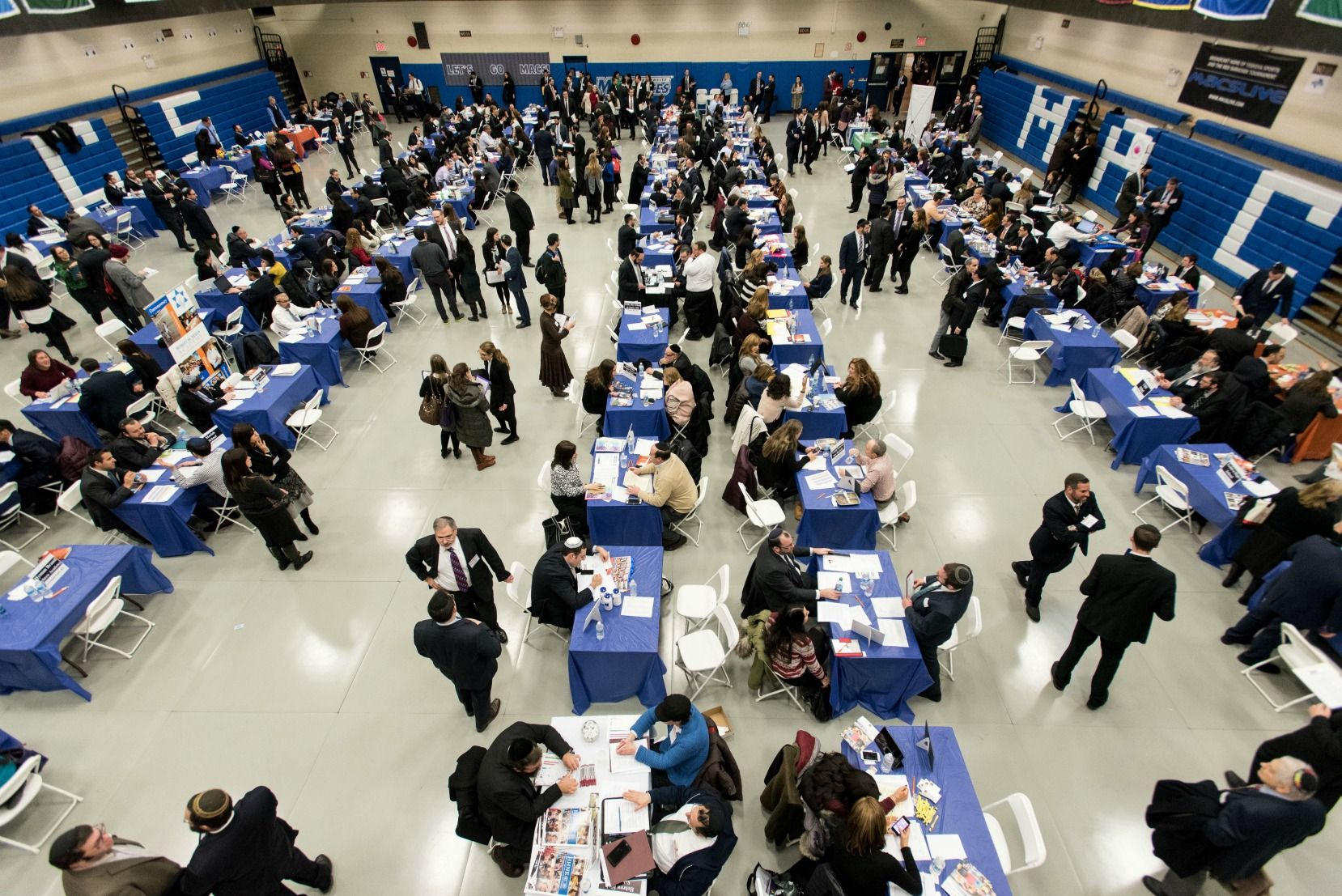 At our job fair you will be able to interview with