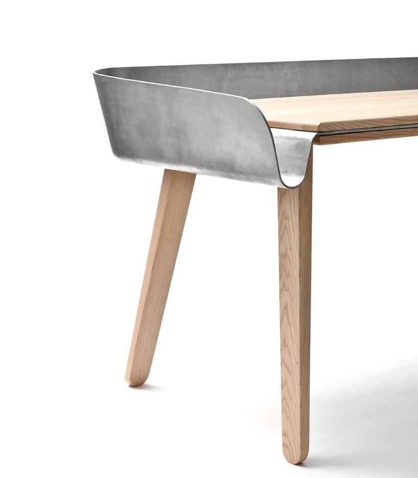 homework table by tomas kral - designboom | architecture & design magazine