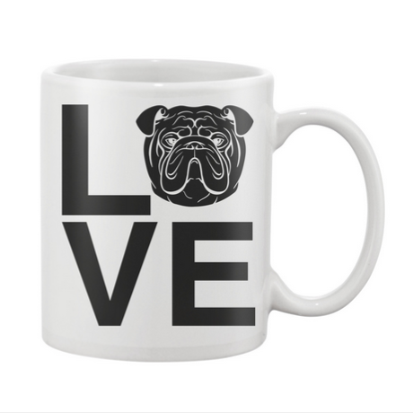 Bulldog Love Mug | Bulldog Babies | Pinterest