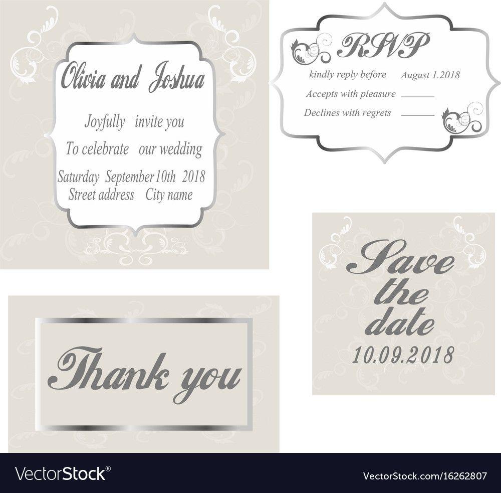 Vintage Wedding Invitation Template With Celebrate It Temp Vintage Wedding Invitations Templates Modern Vintage Wedding Invitations Vintage Wedding Invitations