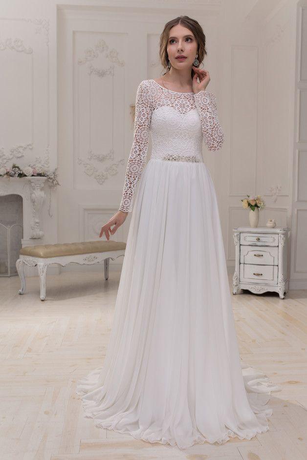 Wedding Dress Hochzeitskleid Brautkleid TERESA | Pinterest | Korsage ...