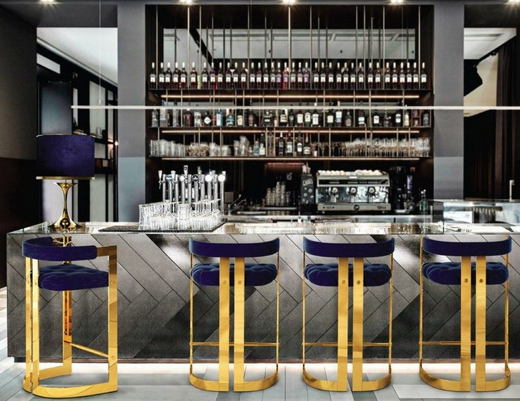 Get Inspired By Brabbu Restaurant Bar Stools For A Touch Of Elegance Contemporary Kitchen