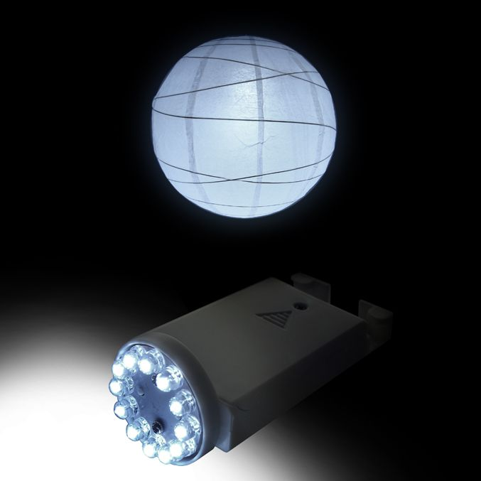 paper lantern lights battery operated 12 led pll 12w paper