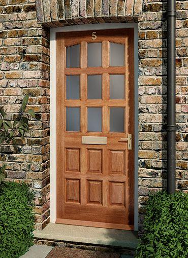 External Wooden Door Furniture on