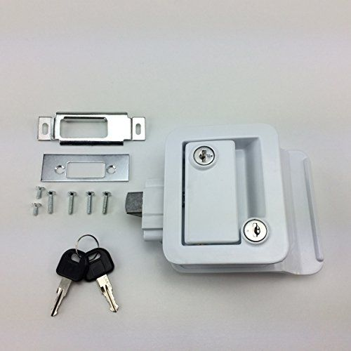 New Recpro White Rv Camper Trailer Motorhome Paddle Entry Http