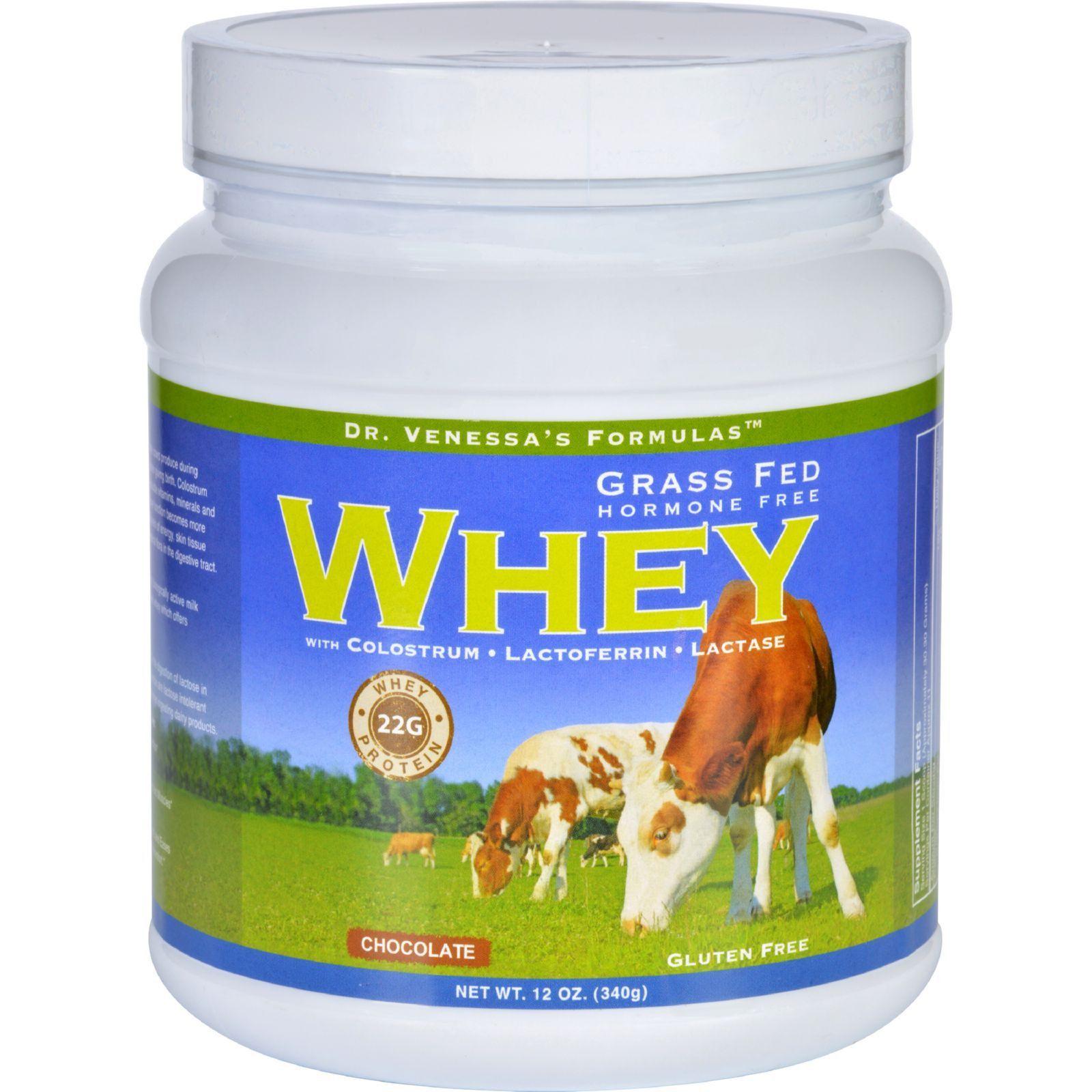 Dr venessas formulas whey protein grass fed hormone free