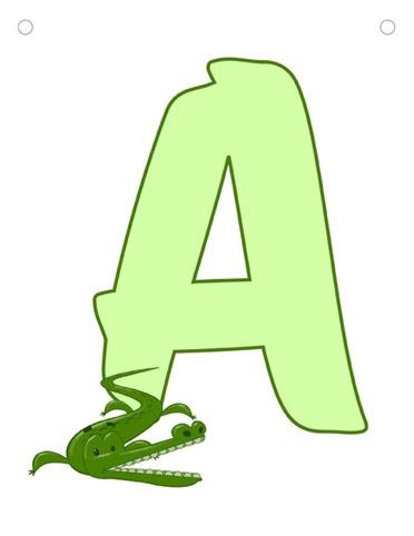 Alfabeto da stampare