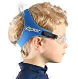 CONTENTS 1 x Extra soft comfortable gentle and adjustable premium Frogglez swimming goggles strap for kids attached to soft TPE clear goggles & NEW 2016 design Frogglez swimming goggles strap for kids attached to soft SILICONE clear goggl...