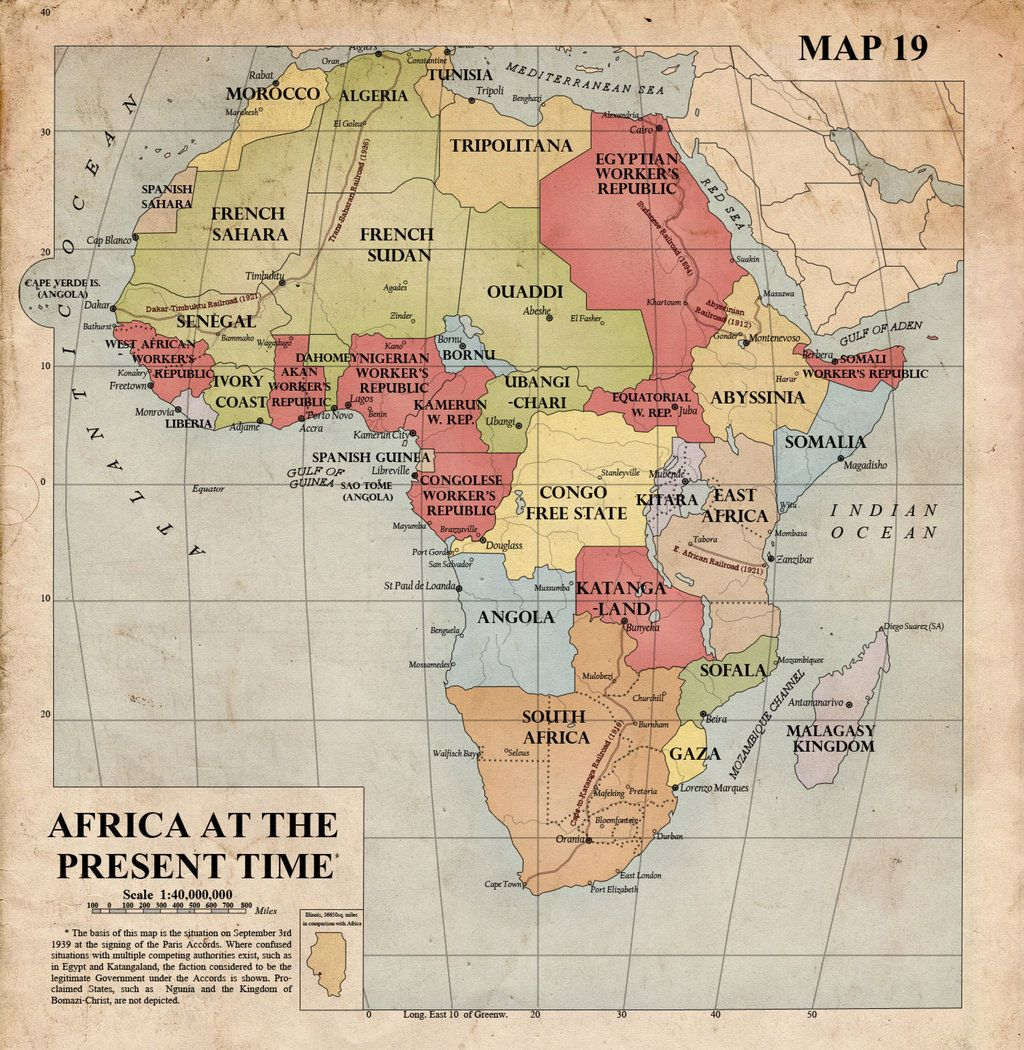 Map Of Africa 1940.Image Result For Map Of Africa 1940 Africa Map Map Africa