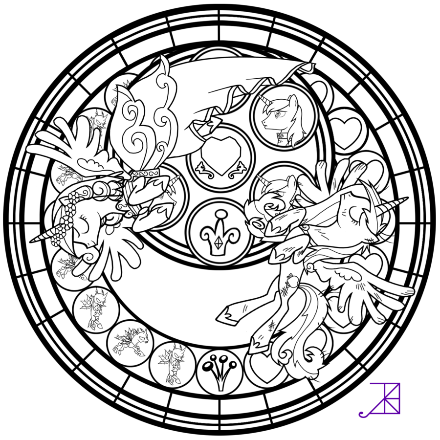 Stained Glass This Day Aria Line Art By Akili Amethyst Deviantart Com On Deviantart Disney Coloring Pages Coloring Pages Disney Stained Glass