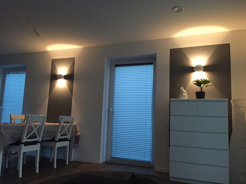 dimmbar Wandlampe LED Wohnzimmer Wohnzimmer Pinterest - led im wohnzimmer