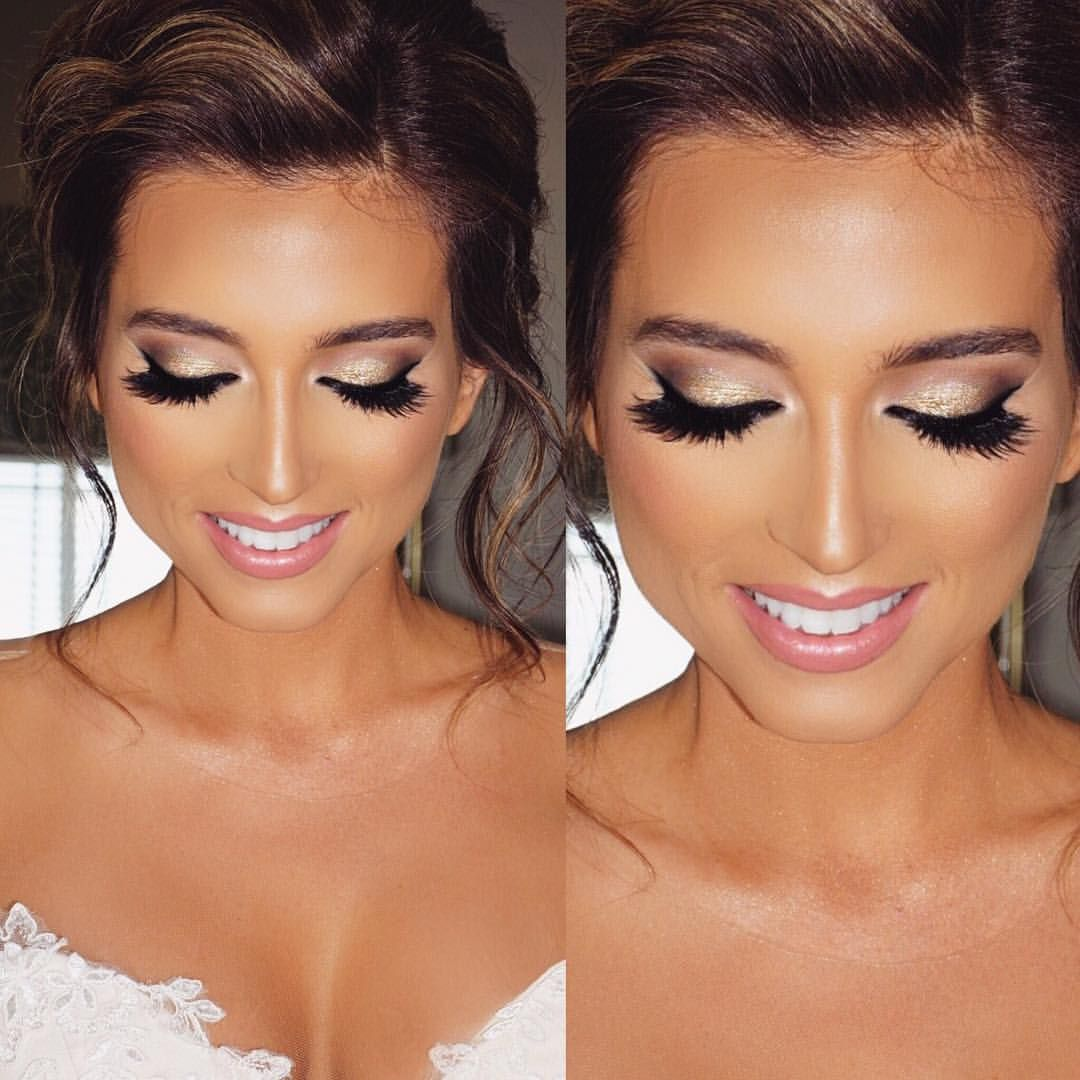 "Jade Marie on Instagram ""My glamorous airbrush bride"