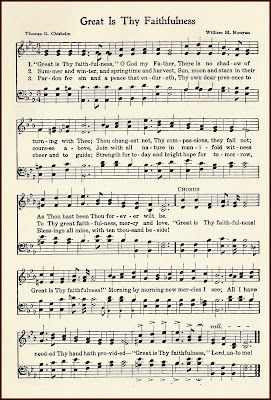 picture regarding Printable Hymns named Hymn Good is Thy Faithfulness ~ absolutely free printable. Hymns