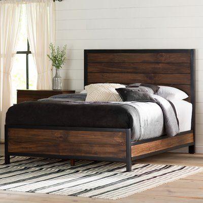 Laurel Foundry Modern Farmhouse Jaiden Panel Bed Size California King