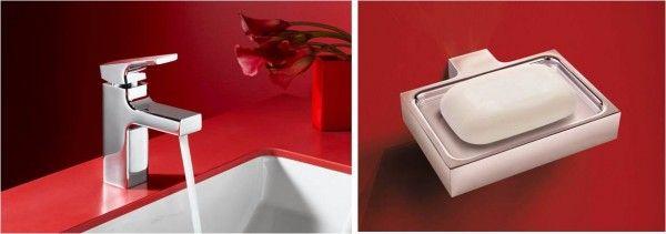 Kohler Strayt basin mixer & soap holder   KOHLER   tapware ...