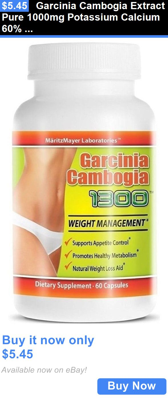How does Garcinia Cambogia extract (HCA) aid weight loss?